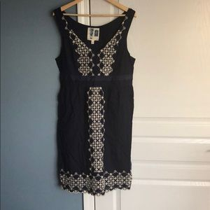 Anthropologie Edme Esyllte dress embroidered Large